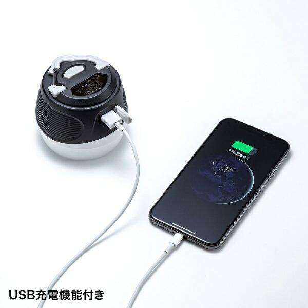 サンワサプライSANWASUPPLYUSB-LED02小型USB充電式LEDランタン[LED/充電式/防水]