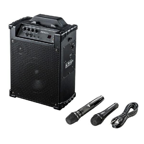 サンワサプライSANWASUPPLYワイヤレスマイク付き拡声器スピーカーMM-SPAMP10