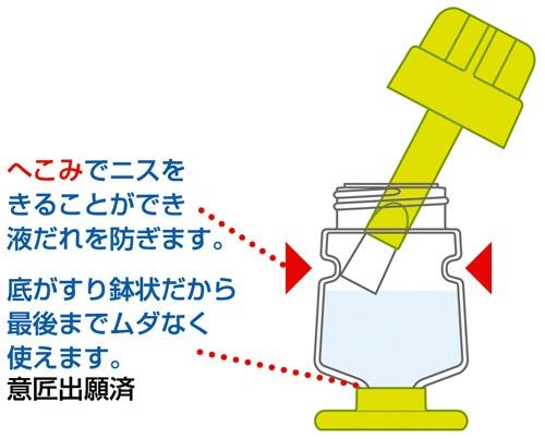 クツワKUTSUWAハケ付工作ニス(ニス切り付)PT566A
