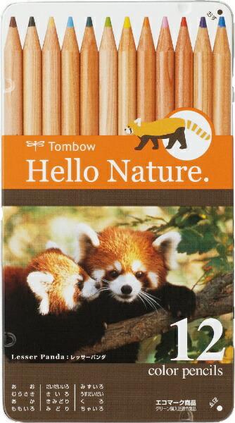 トンボ鉛筆Tombow缶入色鉛筆ハローネイチャーLP0212CCB-RHNLP0212C