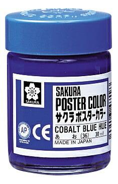 サクラクレパスSAKURACOLORPRODUCTポスターカラー30ml青