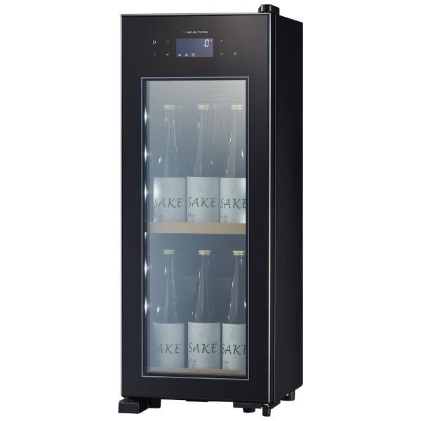 さくら製作所SAKURAWORKS低温冷蔵クーラーZEROCHILLEDブラックOSK9-B[9本/右開き][OSK9B]