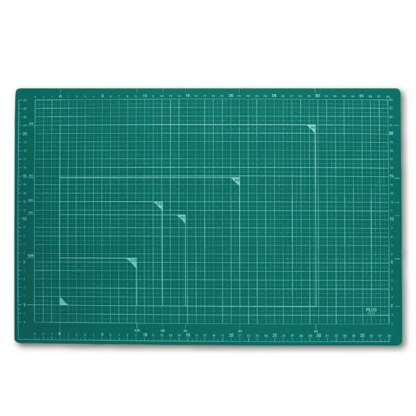 プラスPLUSカッティングマットA3GRCS-A3CS-A3