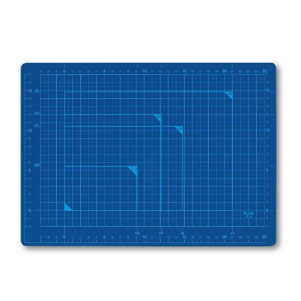 プラスPLUSカッティングマットA4BLCS-A4CS-A4