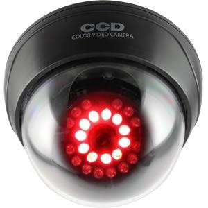 オンスクエアOnSquareダミーカメラ赤外線ドーム型ブラックOS-168R