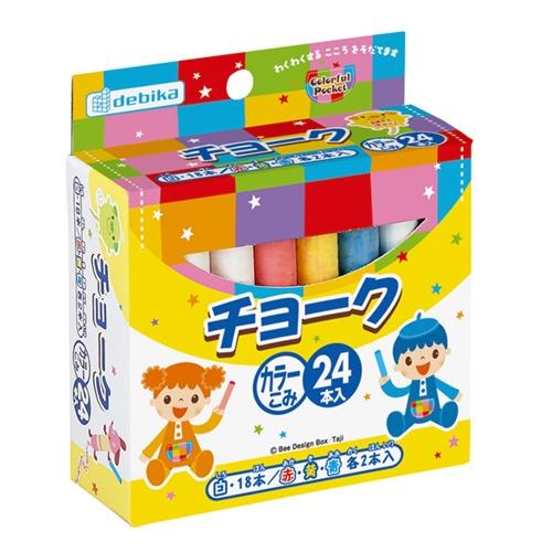デビカDEBIKAチョーク24本入(幼児)063503