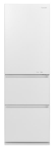 パナソニックPanasonic《基本設置料金セット》NR-C371GNL-W冷蔵庫GNタイプスノーホワイト[3ドア/左開きタイプ/365L][冷蔵庫大型]