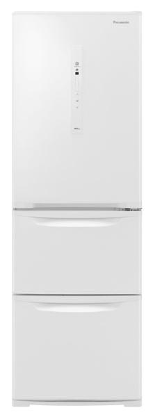 パナソニックPanasonic《基本設置料金セット》NR-C371NL-W冷蔵庫Nタイプピュアホワイト[3ドア/左開きタイプ/365L][冷蔵庫大型]