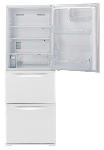 パナソニックPanasonic《基本設置料金セット》NR-C341C-W冷蔵庫Cタイプピュアホワイト[3ドア/右開きタイプ/335L][冷蔵庫大型]
