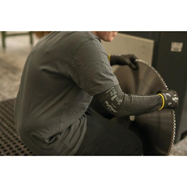 アンセルAnsellアンセル耐切創腕カバーハイフレックス11−251ワイドタイプLサイズ1枚11-251-180-W