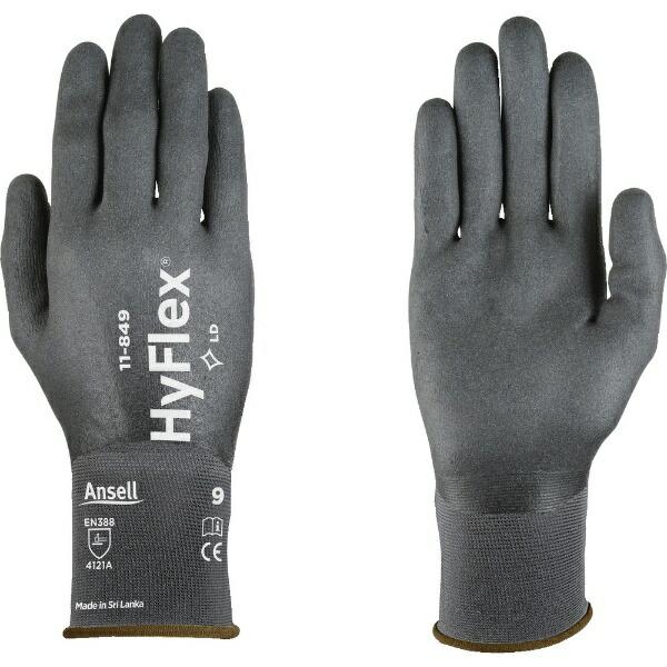 アンセルAnsellアンセルニトリル背抜手袋ハイフレックス11−849Sサイズ11-849-7