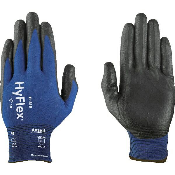 アンセルAnsellアンセルニトリル背抜き手袋ハイフレックス11−816Mサイズ11-816-8
