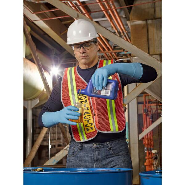 アンセルAnsellアンセルニトリルゴム使い捨て手袋マイクロフレックス93−243Mサイズ(100枚入)93-243-8