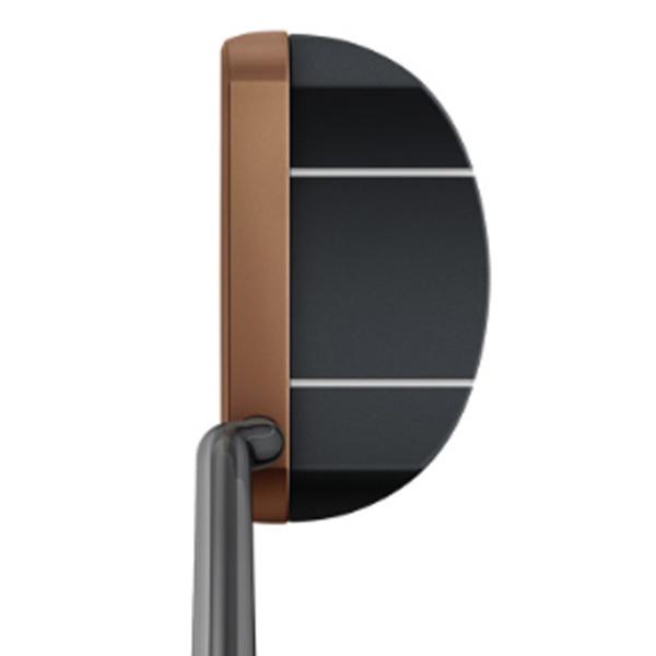 ピンPINGパターHEPPLERヘプラーPIPER35インチ標準グリップ:PP59(ブラック×カッパー)