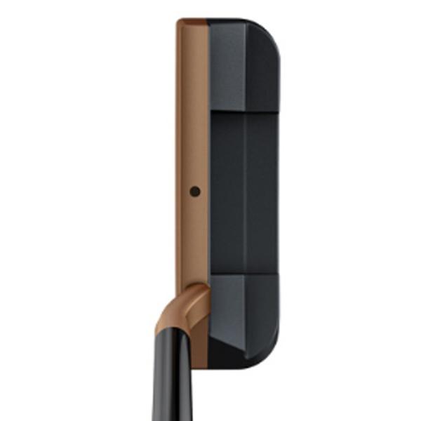 ピンPINGレフティパターHEPPLERヘプラーZB333インチ標準グリップ:PP59(ブラック×カッパー)