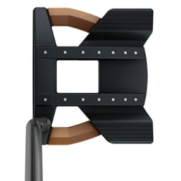 ピンPINGレフティパターHEPPLERヘプラーTOMCAT1433インチ標準グリップ:PP59(ブラック×カッパー)