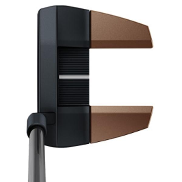 ピンPINGレフティパターHEPPLERヘプラーTYNE333インチ標準グリップ:PP60(ブラック×カッパー)