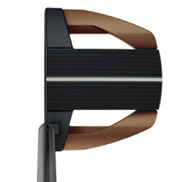 ピンPINGレフティパターHEPPLERヘプラーFLOKI34インチ標準グリップ:PP60(ブラック×カッパー)