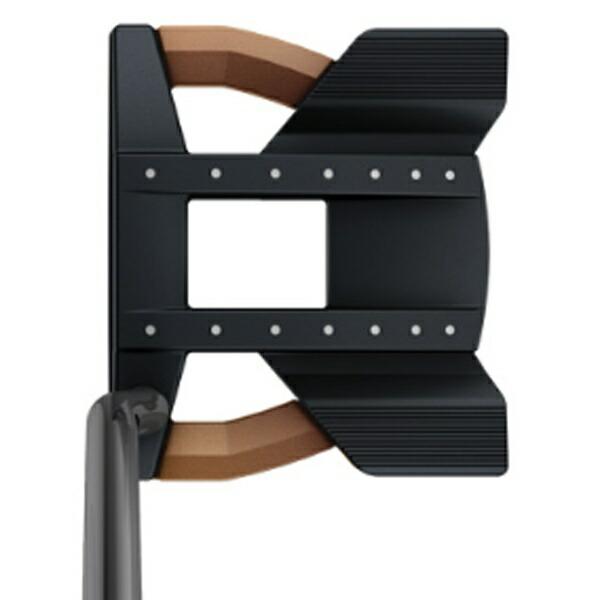 ピンPINGレフティパターHEPPLERヘプラーTOMCAT1433インチ標準グリップ:PP60(ブラック×カッパー)