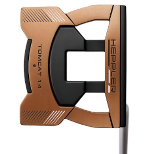 ピンPINGレフティパターHEPPLERヘプラーTOMCAT1434インチ標準グリップ:PP60(ブラック×カッパー)