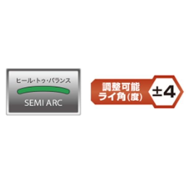 ピンPINGレフティパターHEPPLERヘプラーANSER2アジャストモデル34インチ標準グリップ:PP62(ブラック×カッパー)