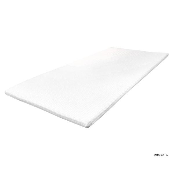 大宗高反発プロファイルマットレストッパー(シングルサイズ/97×200×3cm/ホワイト)