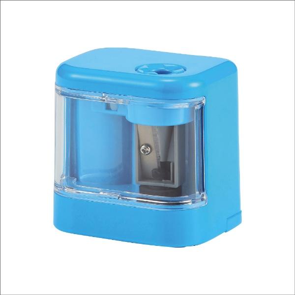 クツワKUTSUWA電池鉛筆削りスピモライトブルーRS032LB