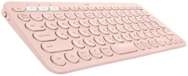 ロジクールLogicoolK380ROマルチデバイスキーボードローズ[Bluetooth/ワイヤレス]