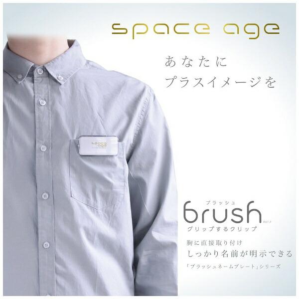 ソニックsonicブラッシュネームプレートSサイズスペースエイEX-2905