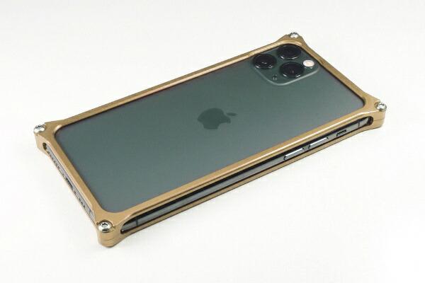 GILDdesignギルドデザインGILDDESIGNソリッドバンパーforiPhone11Proシグネイチャーゴールド