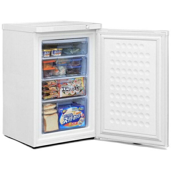 アイリスオーヤマIRISOHYAMA《基本設置料金セット》IUSD-9A-W冷凍庫ホワイト[1ドア/右開きタイプ/85L]