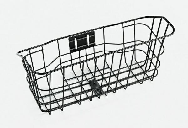 ブリヂストンBRIDGESTONEフロントバスケットTB1e用バスケット(ブラック)BK-TB1E【※バスケット装着には別売フロントキャリアが必要です。】