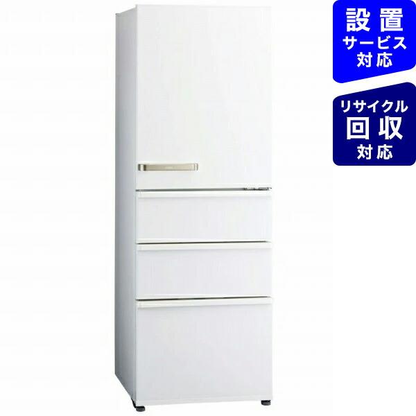 AQUAアクア《基本設置料金セット》AQR-36J-W冷蔵庫ウォームホワイト[4ドア/右開きタイプ/355L][冷蔵庫大型省エネ家電]
