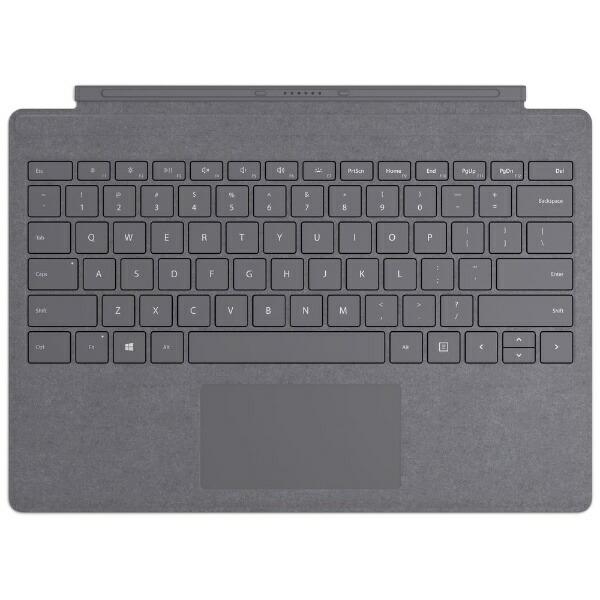 マイクロソフトMicrosoft【純正】SurfaceProSignatureタイプカバープラチナFFP-00159[サーフェスプロカバーキーボード]