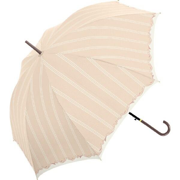 中谷NAKATANI長傘NaturalBasicHEARTLEAF(ハートリーフ)ピンク710-018[雨傘/レディース/58cm]