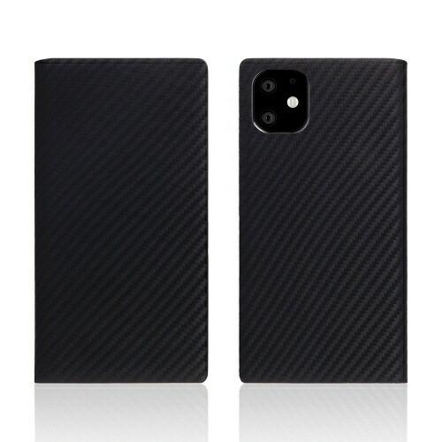 ROAロアiPhone11carbonleathercaseBlack
