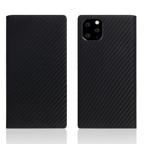 ROAロアiPhone11ProMaxcarbonleathercaseBlack