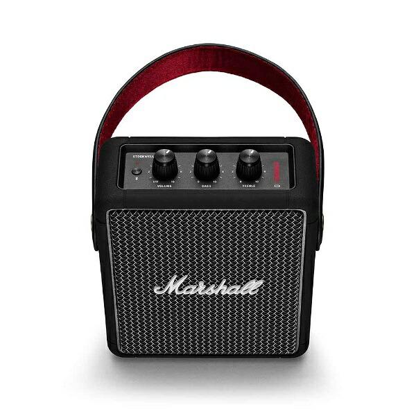 MarshallマーシャルSTOCKWELLIIBLACKブルートゥーススピーカーブラック[Bluetooth対応/防滴]