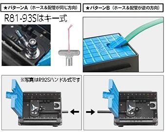 三栄水栓SANEI散水栓ボックスセットR8193SB