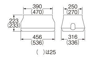 三栄水栓SANEI電磁弁ボックスRXh8125ZA