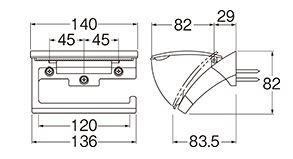 三栄水栓SANEIペーパーホルダーW3701C
