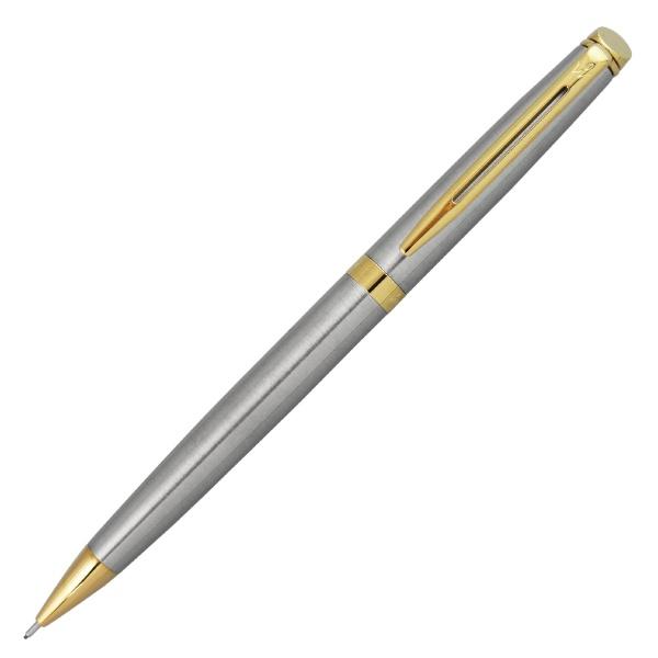 ウォーターマンWATERMANメトロポリタンエッセンシャルボールペン&シャープペンシルギフトセットステンレススチールGT