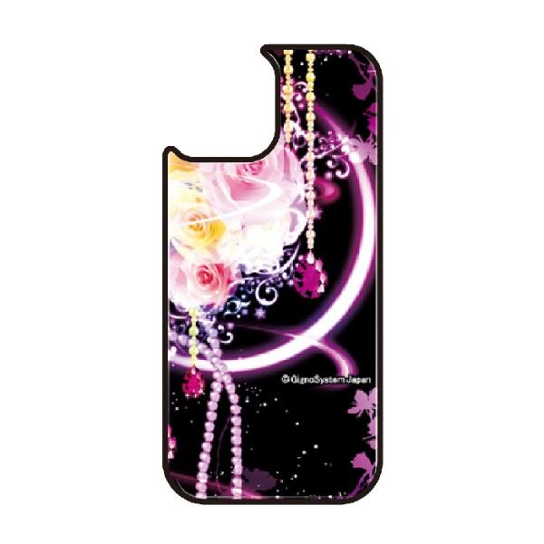 藤家FujiyaiPhone11VESTI着せ替え用背面カバー(ガラスハイブリッド)幻想デザインH.幻想ピンクローズVESTIH.幻想ピンクローズvegp7418-h-ip11