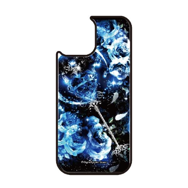 藤家FujiyaiPhone11VESTI着せ替え用背面カバー(ガラスハイブリッド)幻想デザインP.サファイアスティックVESTIP.サファイアスティックvegp7418-p-ip11