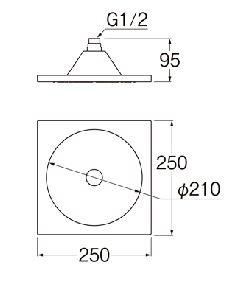 三栄水栓SANEI回転シャワーヘッドS1040F2