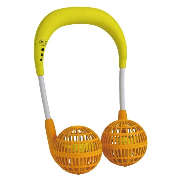 スパイスSPICEDF205FSORW-fanファミリーセットオレンジ[首掛け携帯扇風機ハンズフリー]