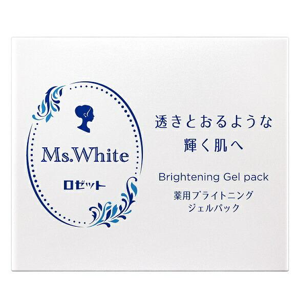 ロゼットROSETTEMs.White薬用ブライトニングジェルパック(100g)〔パック〕