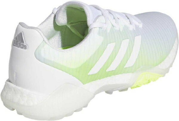 アディダスadidas23.0cmレディースゴルフシューズウィメンズコードカオス(ホワイト×ホワイト×シグナルグリーン)EE9336EPC85
