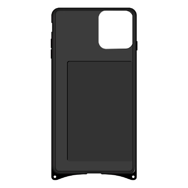藤家FujiyaiPhone11幻想デザインガラスハイブリッドB.ステンドグラスローズghp7053-bk-b-ip11