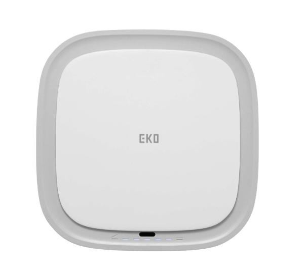 EKOJAPANイーケーオージャパンモランディセンサービンホワイトEK6288-12L-WH[12L/自動センサー式]
